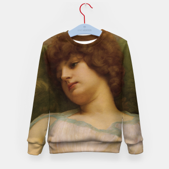 Thumbnail image of Idle Moments by John William Godward Kid's sweater, Live Heroes