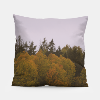 Thumbnail image of Autumn morning Pillow, Live Heroes