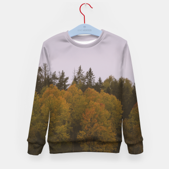 Thumbnail image of Autumn morning Kid's sweater, Live Heroes