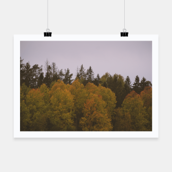 Thumbnail image of Autumn morning Poster, Live Heroes