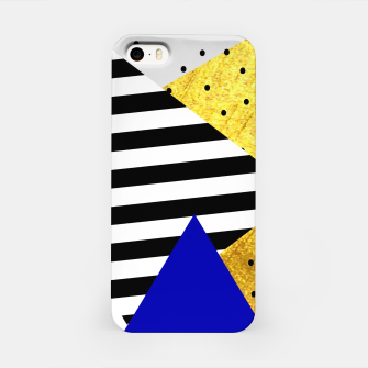 Miniature de image de Fall Abstract Blue iPhone Case, Live Heroes
