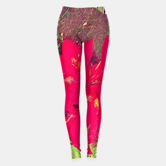 Thumbnail image of red flower Legginsy, Live Heroes