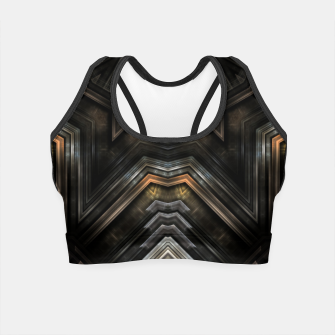 Thumbnail image of Tyniresh Shield Crop Top, Live Heroes
