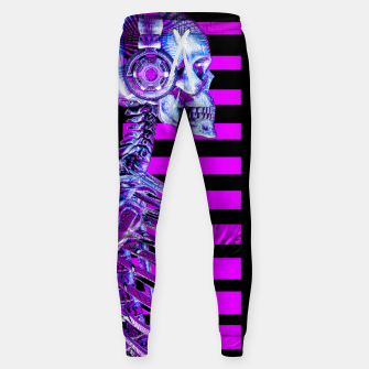 Thumbnail image of Eternal Disco Neon Skull Sweatpants, Live Heroes