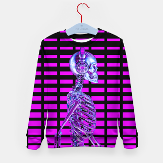 Thumbnail image of Eternal Disco Neon Skull Kid's sweater, Live Heroes