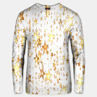 Thumbnail image of Transparent Stars Unisex sweater, Live Heroes