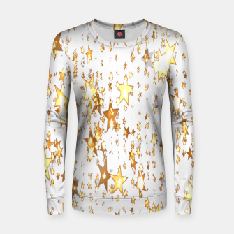 Thumbnail image of Transparent Stars Women sweater, Live Heroes