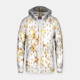 Thumbnail image of Transparent Stars Zip up hoodie, Live Heroes