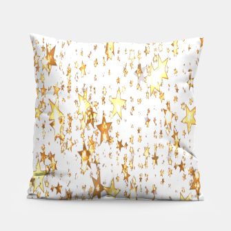 Thumbnail image of Transparent Stars Pillow, Live Heroes