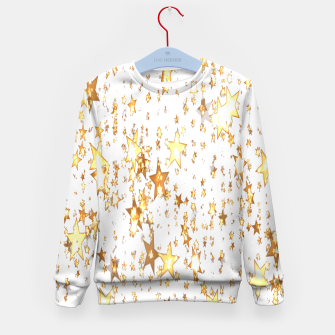 Thumbnail image of Transparent Stars Kid's sweater, Live Heroes