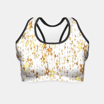 Thumbnail image of Transparent Stars Crop Top, Live Heroes