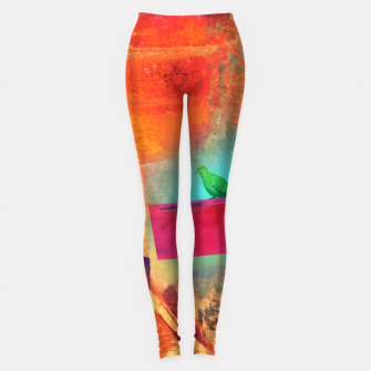 Green Bird  Leggings thumbnail image