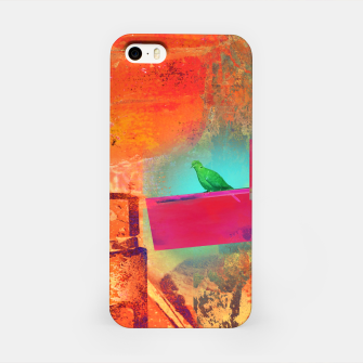 Green Bird  iPhone Case thumbnail image