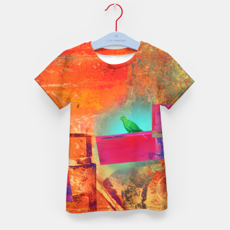 Green Bird  Kid's t-shirt thumbnail image