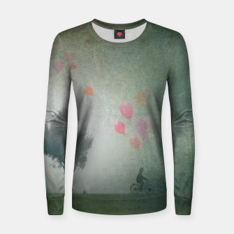 Thumbnail image of The Loving Cyclist Women sweater, Live Heroes