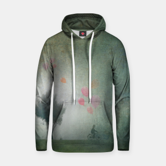 Thumbnail image of The Loving Cyclist Hoodie, Live Heroes