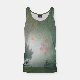Thumbnail image of The Loving Cyclist Tank Top, Live Heroes