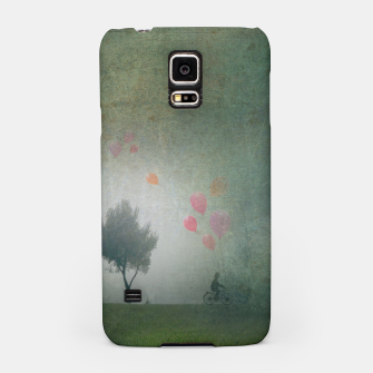 The Loving Cyclist Samsung Case Bild der Miniatur