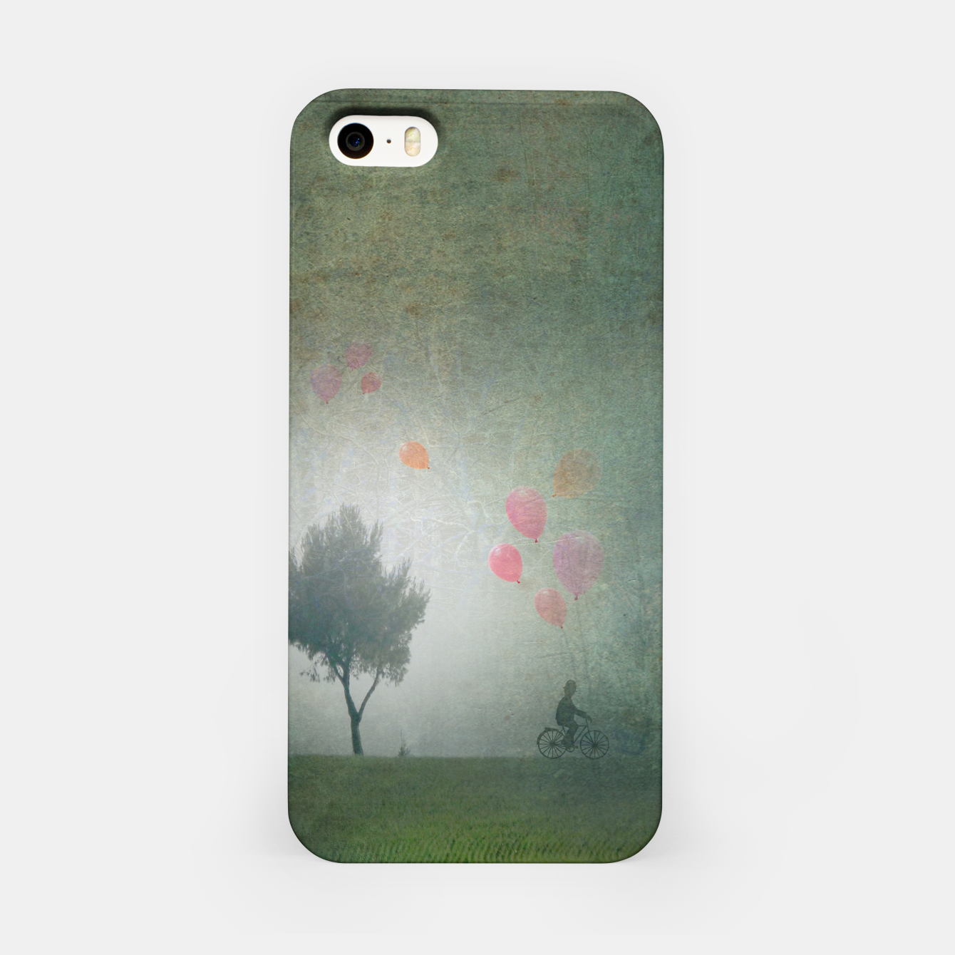 Foto The Loving Cyclist iPhone Case - Live Heroes