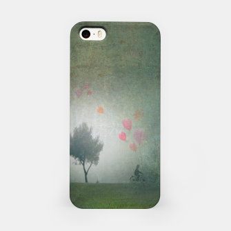 The Loving Cyclist iPhone Case Bild der Miniatur