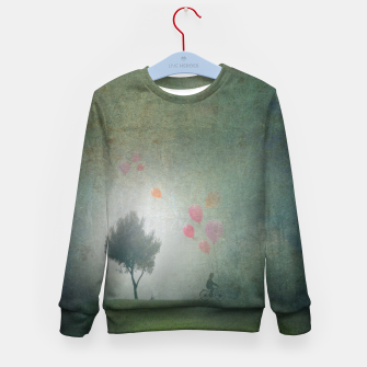 The Loving Cyclist Kid's sweater Bild der Miniatur