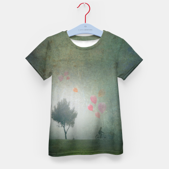 Thumbnail image of The Loving Cyclist Kid's t-shirt, Live Heroes