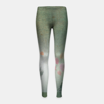 Thumbnail image of The Loving Cyclist Girl's leggings, Live Heroes