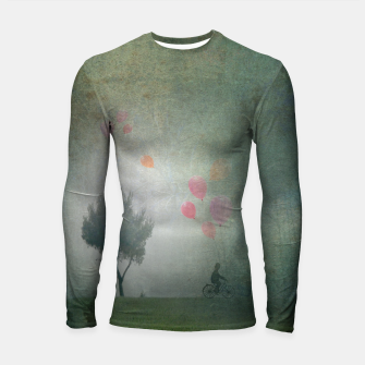 Thumbnail image of The Loving Cyclist Longsleeve rashguard , Live Heroes