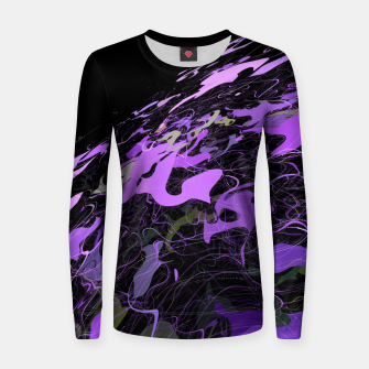 Thumbnail image of Purple Planet Women sweater, Live Heroes
