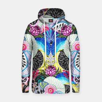 Thumbnail image of Whimsical abstract hand paint design  Hoodie, Live Heroes