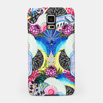 Miniatur Whimsical abstract hand paint design  Samsung Case, Live Heroes