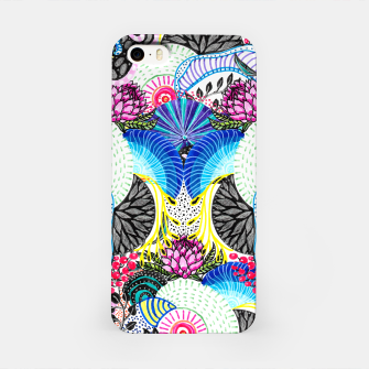 Miniatur Whimsical abstract hand paint design  iPhone Case, Live Heroes