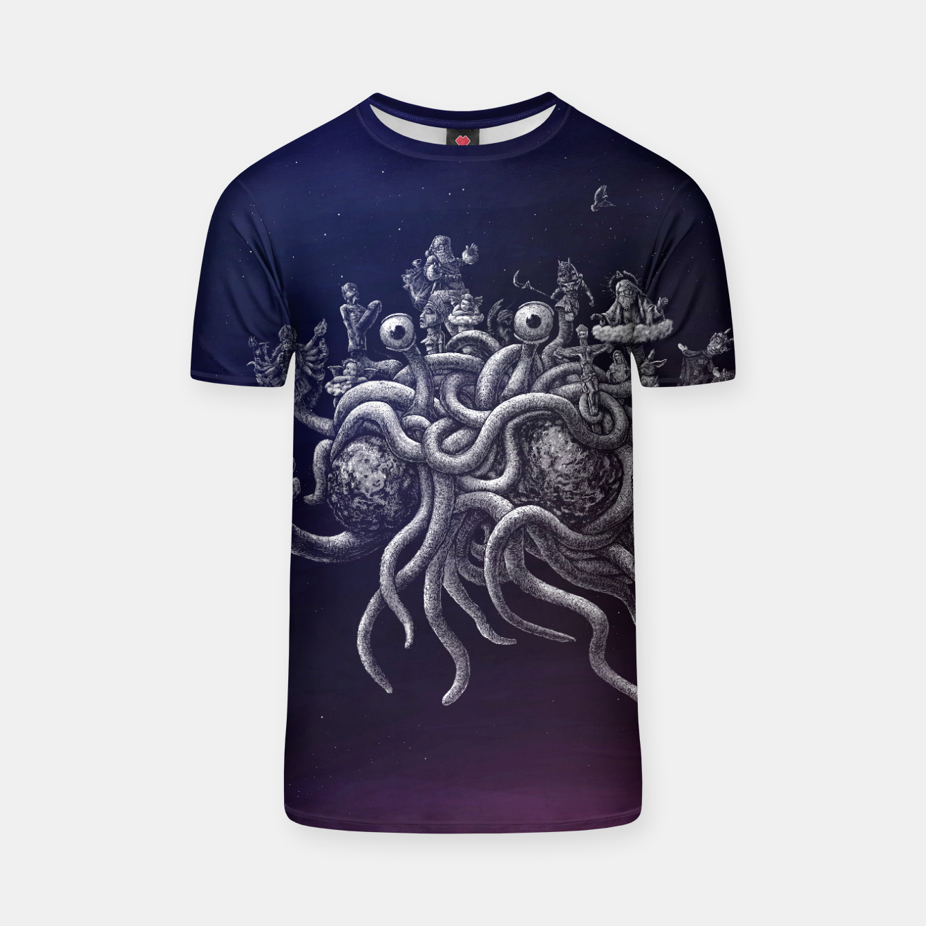 Image of CREDO, QUIA ABSURDUM EST (the flying spaghetti monster) T-shirt - Live Heroes