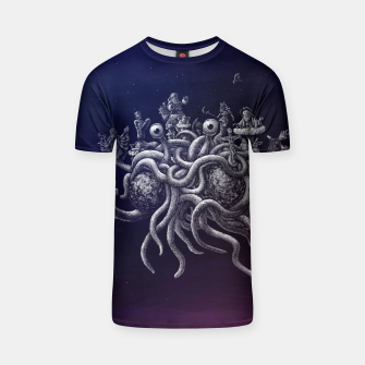 Thumbnail image of CREDO, QUIA ABSURDUM EST (the flying spaghetti monster) T-shirt, Live Heroes