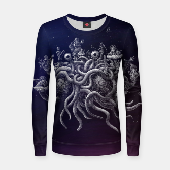 Thumbnail image of CREDO, QUIA ABSURDUM EST (the flying spaghetti monster) Women sweater, Live Heroes