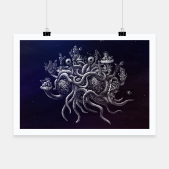 Thumbnail image of CREDO, QUIA ABSURDUM EST (the flying spaghetti monster) Poster, Live Heroes