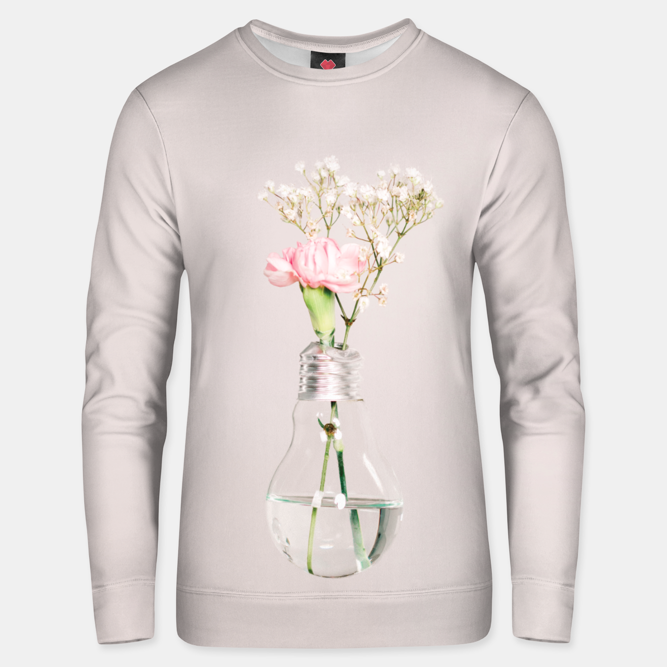 Image of Flowers in a light bulb Bluza unisex - Live Heroes