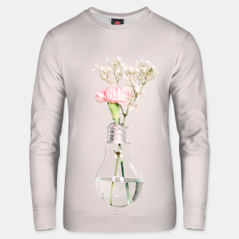 Miniatur Flowers in a light bulb Bluza unisex, Live Heroes