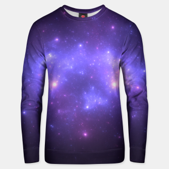 Thumbnail image of Take me back to the stars Abstract Fractal Art Design Unisex sweater, Live Heroes