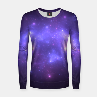 Thumbnail image of Take me back to the stars Abstract Fractal Art Design Women sweater, Live Heroes