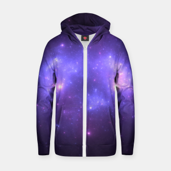 Thumbnail image of Take me back to the stars Abstract Fractal Art Design Zip up hoodie, Live Heroes