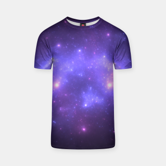 Thumbnail image of Take me back to the stars Abstract Fractal Art Design T-shirt, Live Heroes