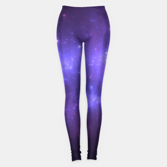 Thumbnail image of Take me back to the stars Abstract Fractal Art Design Leggings, Live Heroes