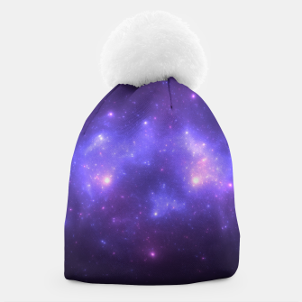 Thumbnail image of Take me back to the stars Abstract Fractal Art Design Beanie, Live Heroes