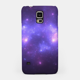 Thumbnail image of Take me back to the stars Abstract Fractal Art Design Samsung Case, Live Heroes