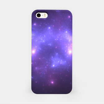 Thumbnail image of Take me back to the stars Abstract Fractal Art Design iPhone Case, Live Heroes