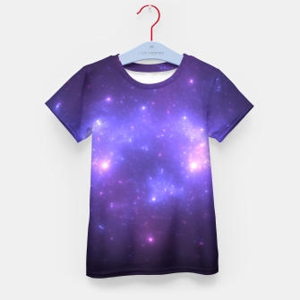 Thumbnail image of Take me back to the stars Abstract Fractal Art Design Kid's t-shirt, Live Heroes