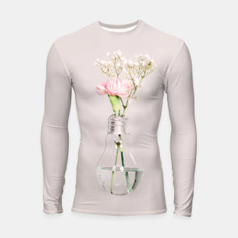 Flowers in a light bulb Rashguard długi rękaw thumbnail image