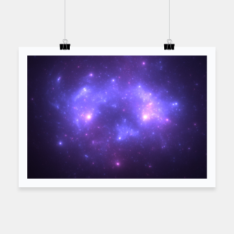 Thumbnail image of Take me back to the stars Abstract Fractal Art Design Poster, Live Heroes