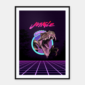 Thumbnail image of Wild Framed poster, Live Heroes